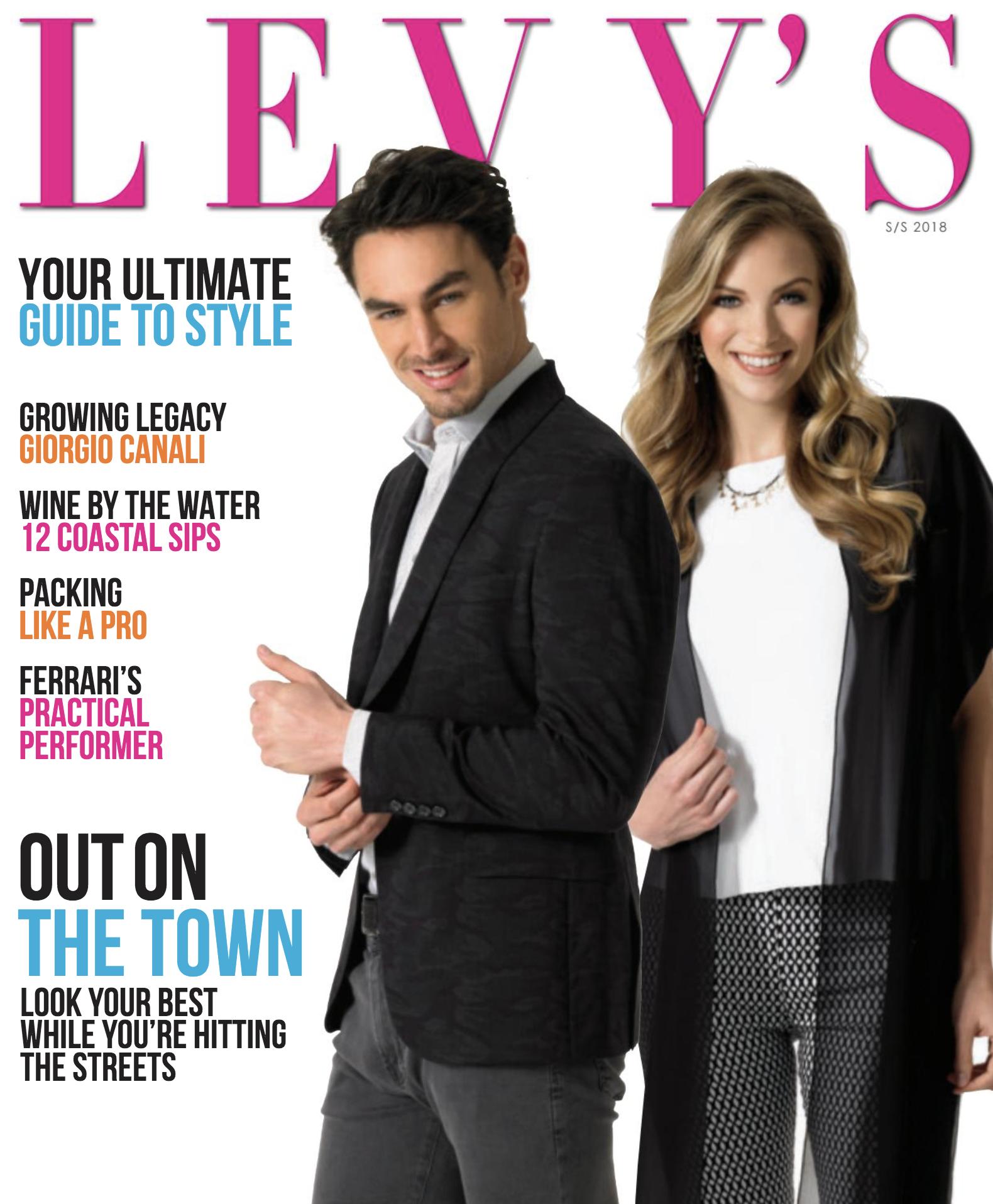magazine cover s/s 18