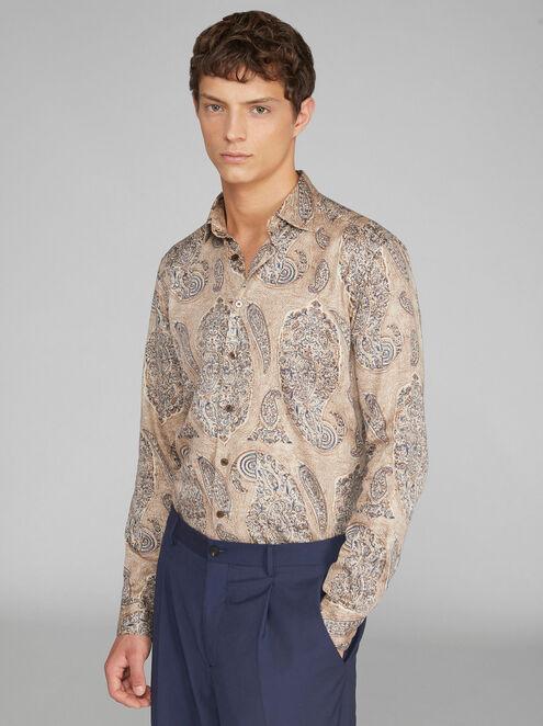 Etro Desert Paisley shirt